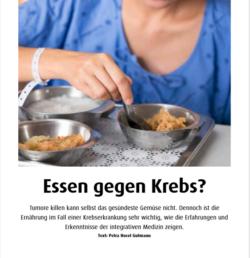 Ernährung gegen Krebs www.gesundheitsjournalistin.ch